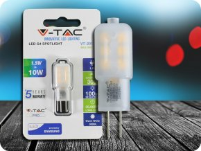 LED Strahler SAMSUNG CHIP - G4 1.5W Kunststoff 6400K (Lichtfarbe Kaltweiß)