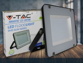 150W LED Fluter/Scheinwerfer SMD SAMSUNG CHIP Schwarz Gehäuse 6400K (Lichtfarbe Kaltweiß)