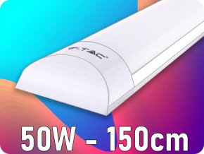 50W LED Armatur SAMSUNG Chip 150cm 120LM/WATT