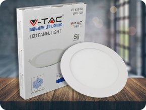 18W LED Panel Premium SAMSUNG CHIP Rund 6400K (Lichtfarbe Kaltweiß)