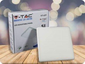 18W LED Regulierbares Panel SAMSUNG Chip Quadratisch 6400K (Lichtfarbe Kaltweiß)