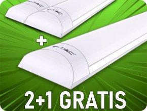 Prismatische LED PANEL 50W, 150 cm (6000Lm), SAMSUNG CHIP, 2 + 1 gratis! (Lichtfarbe Kaltweiß)