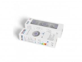 Paket 3 x GU10 Rahmen, weiß, 3xLED Birne, 5W (Lichtfarbe Kaltweiß)