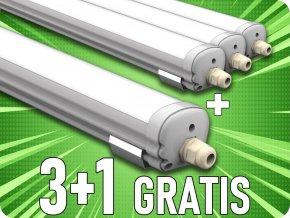 LED Wasserdichte Lampe G-Serie ECONOMICAL 1500mm 48W (3840lm), 3+1 gratis! (Lichtfarbe Neutralweiß)