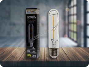 2129 led gluhbirne 2w t30 e27 filament