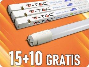 LED-Röhre T8, 10W, 60 cm, G13, (850 LM), SAMSUNG Chip, 15+10 gratis!