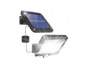 LTC-Reflektor mit Solarpanel und PIR-Sensor, 10W, 1000LM, 1800mAh