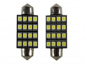 2432 led autolampen c5w 16 x led 41mm