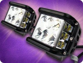 LED-ARBEITSLICHT  CREE 45W, IP67, 6000K,  2-teiliges Set