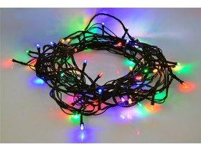 6167 solight led im freien weihnachtskette 100 leds 10m versorgung 3m 8 funktionen timer ip44 multicolor
