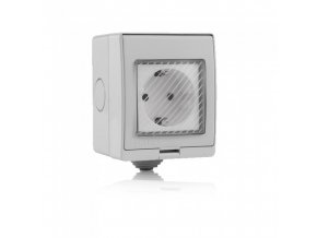 6632 wifi sockel ip55 amazon alexa google home kompatibel