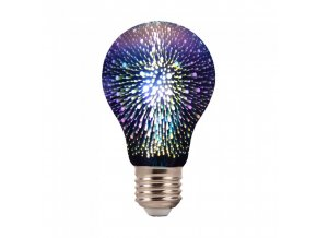 6914 led gluhbirne 3w e27 filament 3d a60 3000k