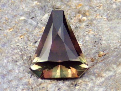 1.73 ct Chrome Green Red Pink Multicolor Schiller Oregon Sunstone W2216 01