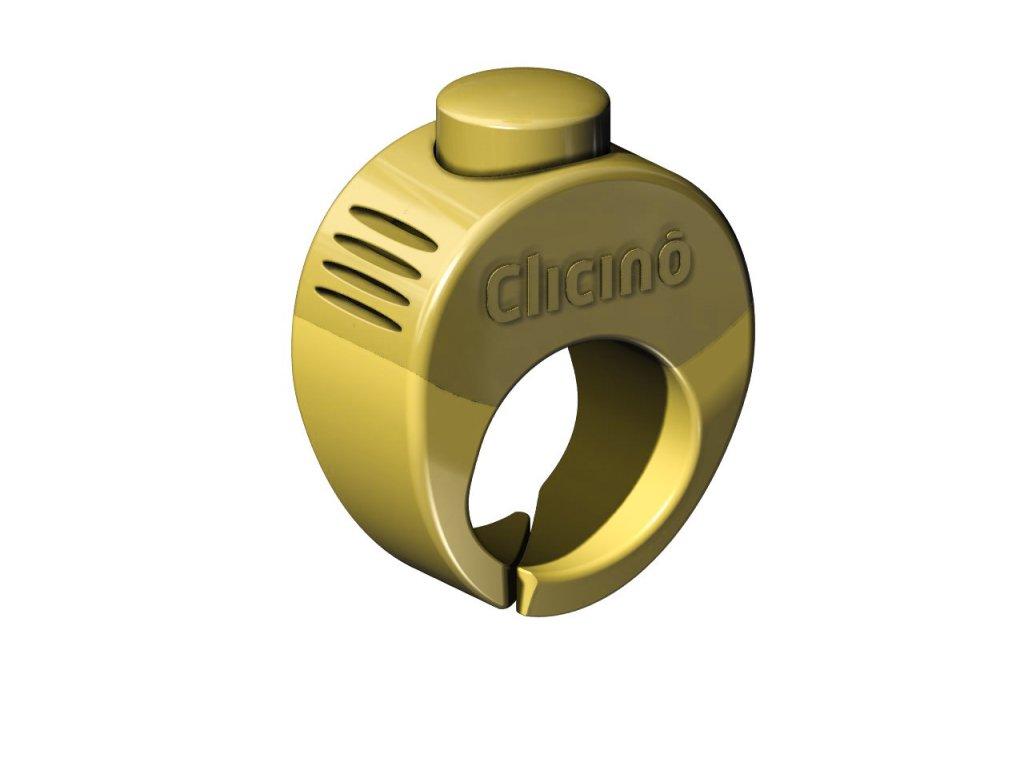 Clicker Ring yellow