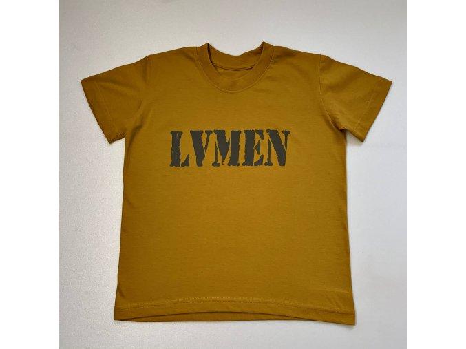 Lvmen kids T-shirt canary yellow