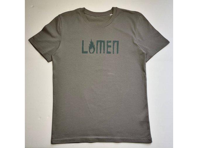 Lvmen skeleton T-shirt beige