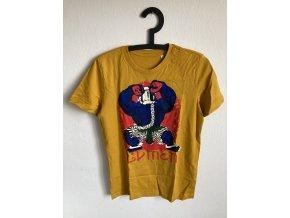 Lvmen Hulk T-shirt mustard yellow