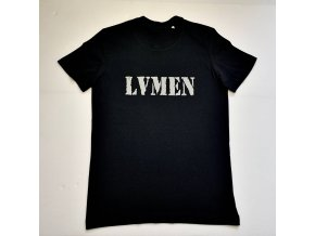 Lvmen simple T-shirt black