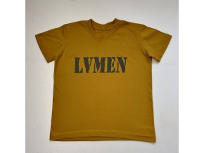 Lvmen kids T-shirt canary yellow
