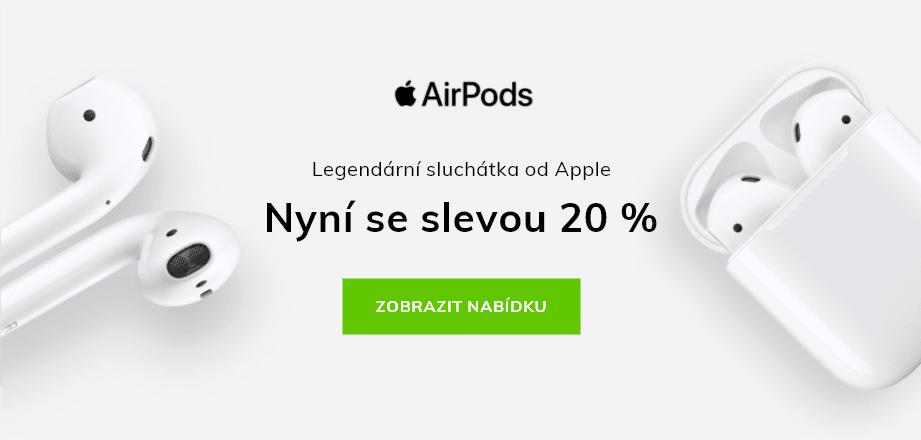 Legendární sluchátka od Apple