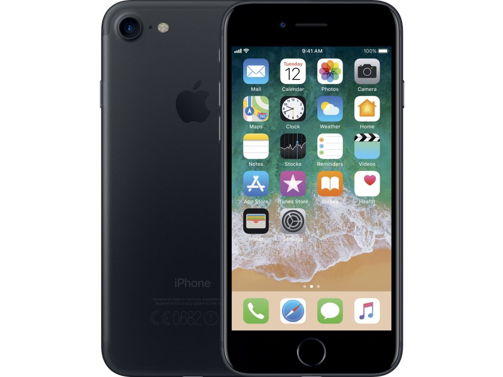 50 apple iphone 7 32gb cerna