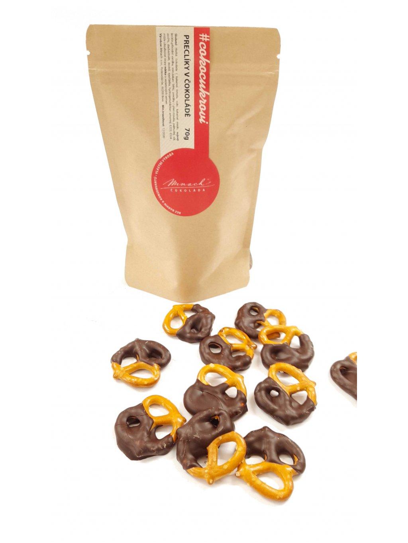 Preclíky v čokoládě