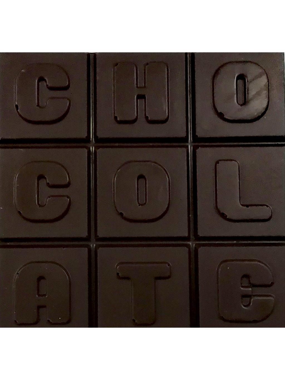 Hořká čokoláda slazená stévií