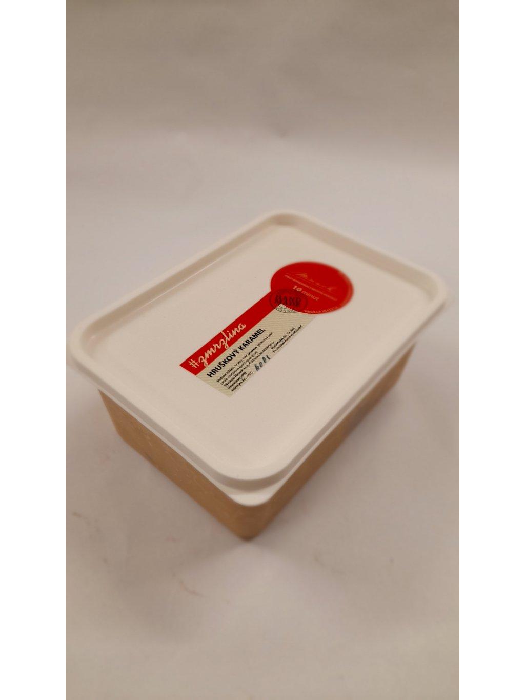 Zmrzlina Hruškový karamel