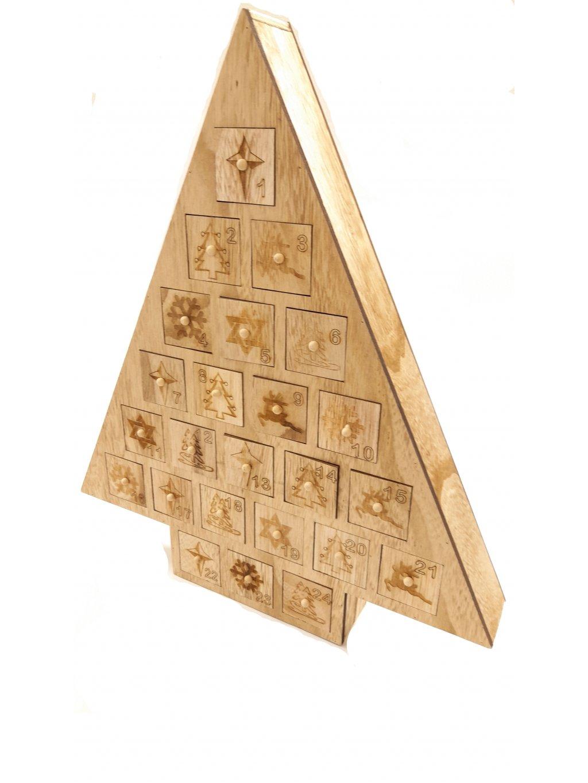 Adventní kalendář s 24 pralinkami