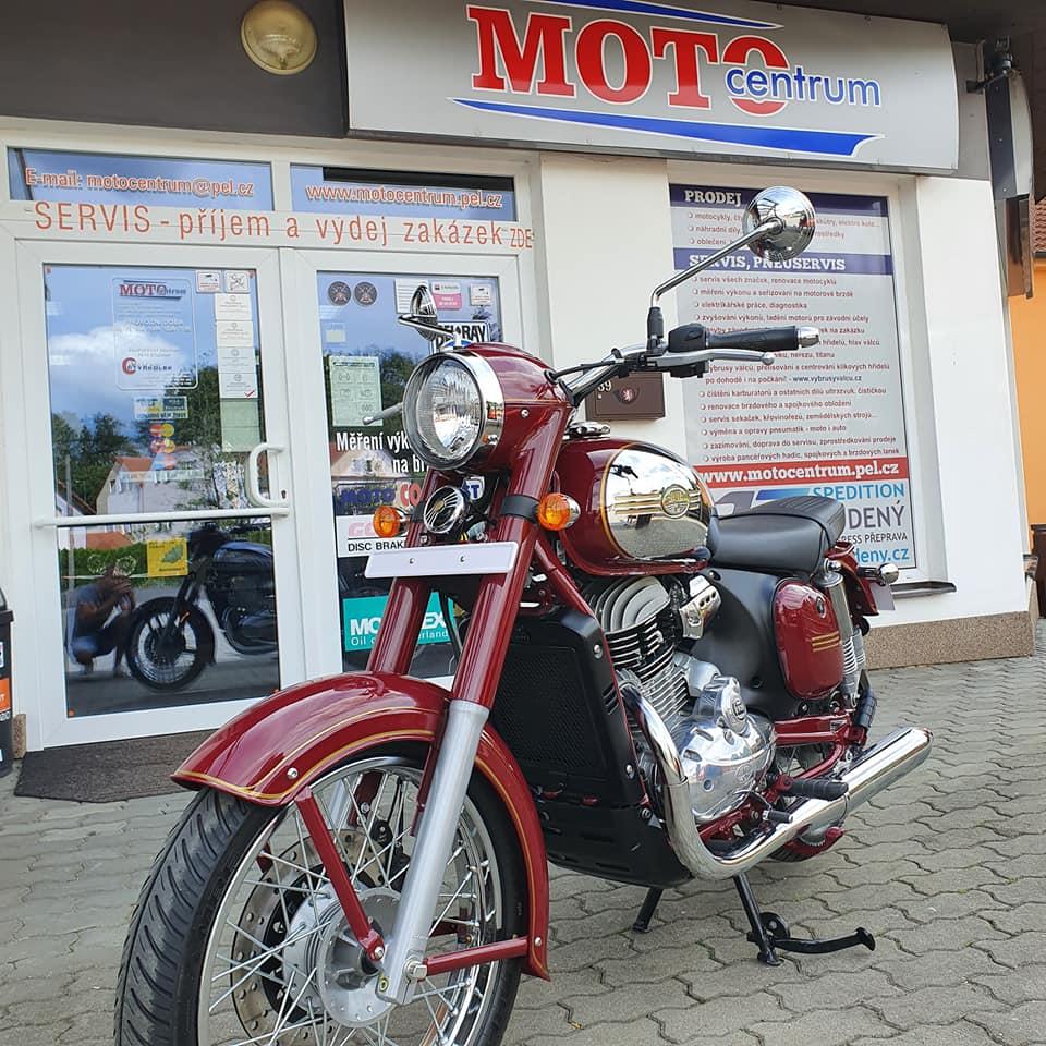 Indická Jawa 300CL - kompletní fotogalerie