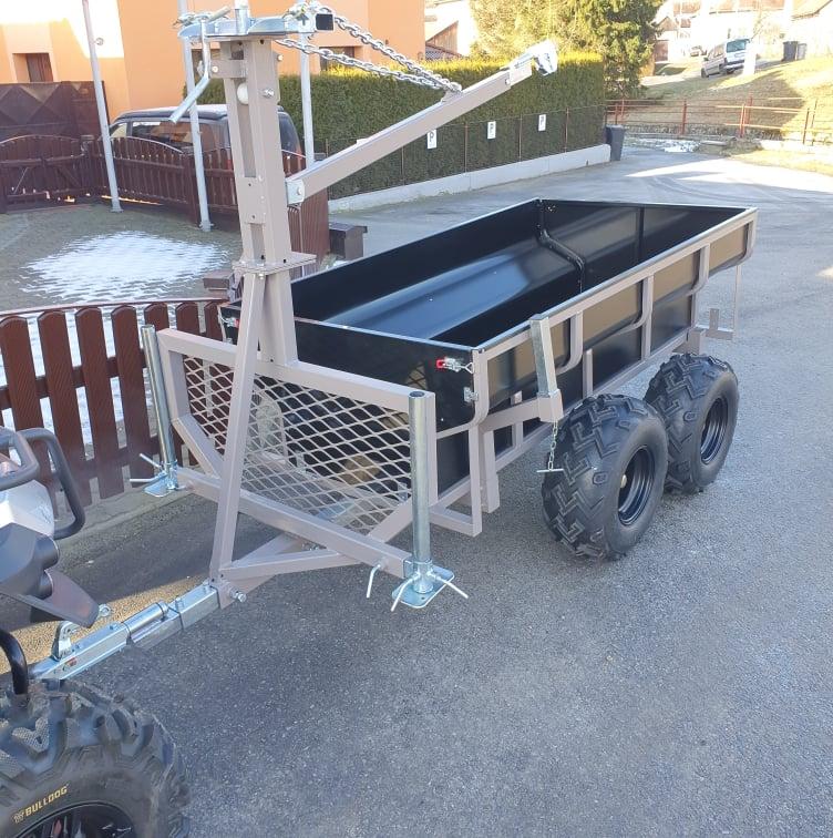 Vyvážecí vozík SHARK WOOD 1500