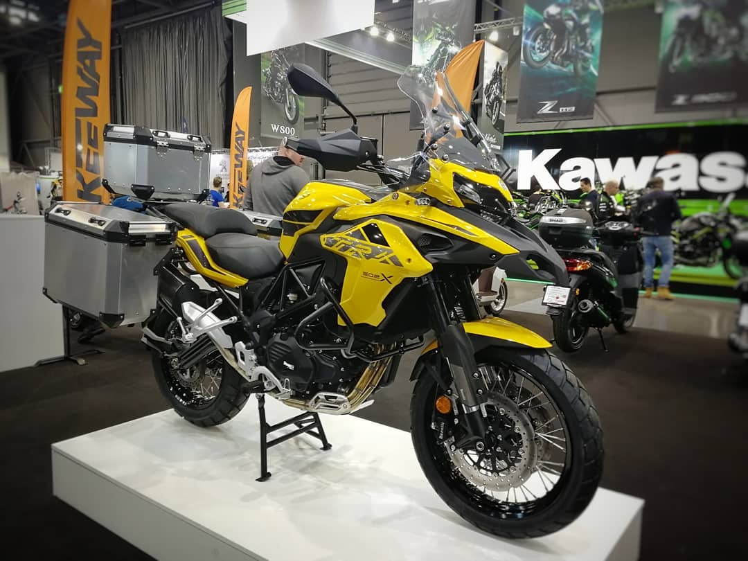 Benelli TRK 502 X ve žluté barvě jako limitovaná edice - testovací jízdy!