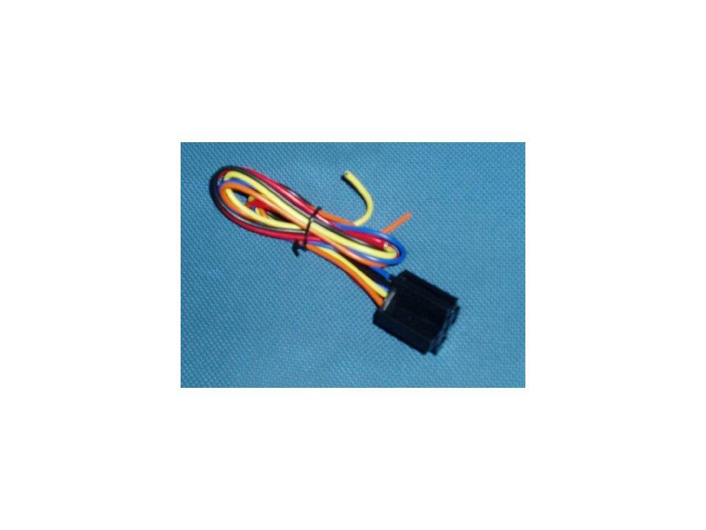 3198 objimka na rele s kabelem 5 vyvodu