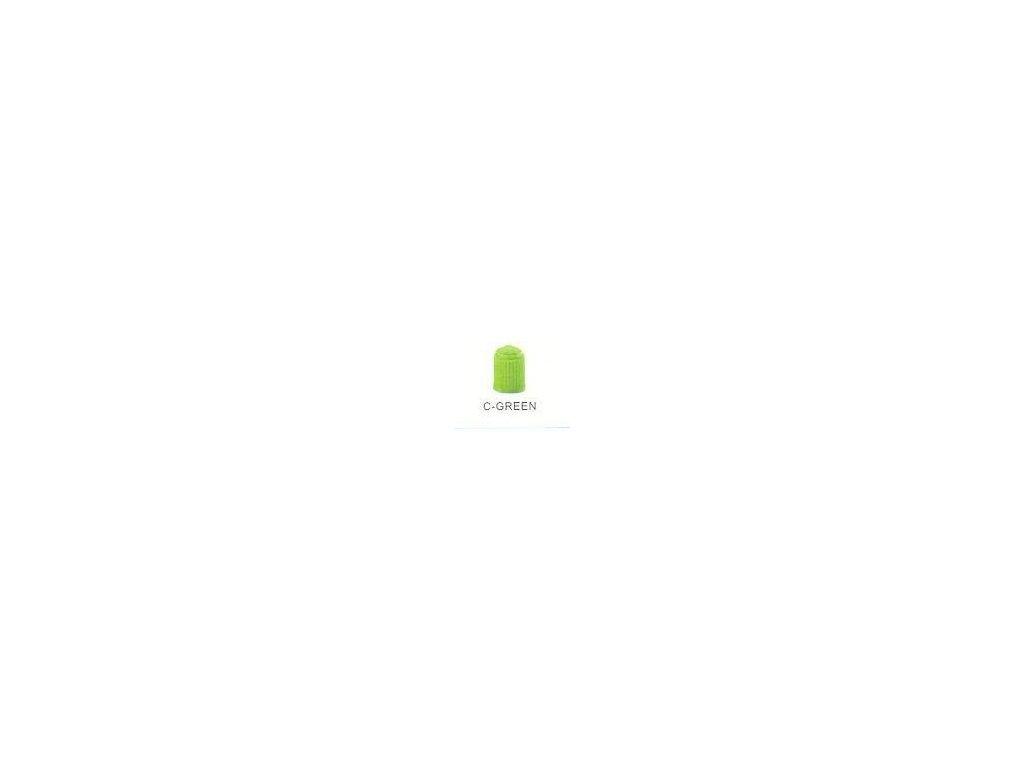 3438 cepicka ventilku plastova zelena