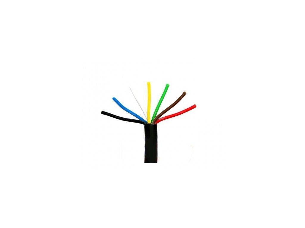 4983 elektroinstalacni 7 polovy kabel pro privesne voziky 7 x 1mm