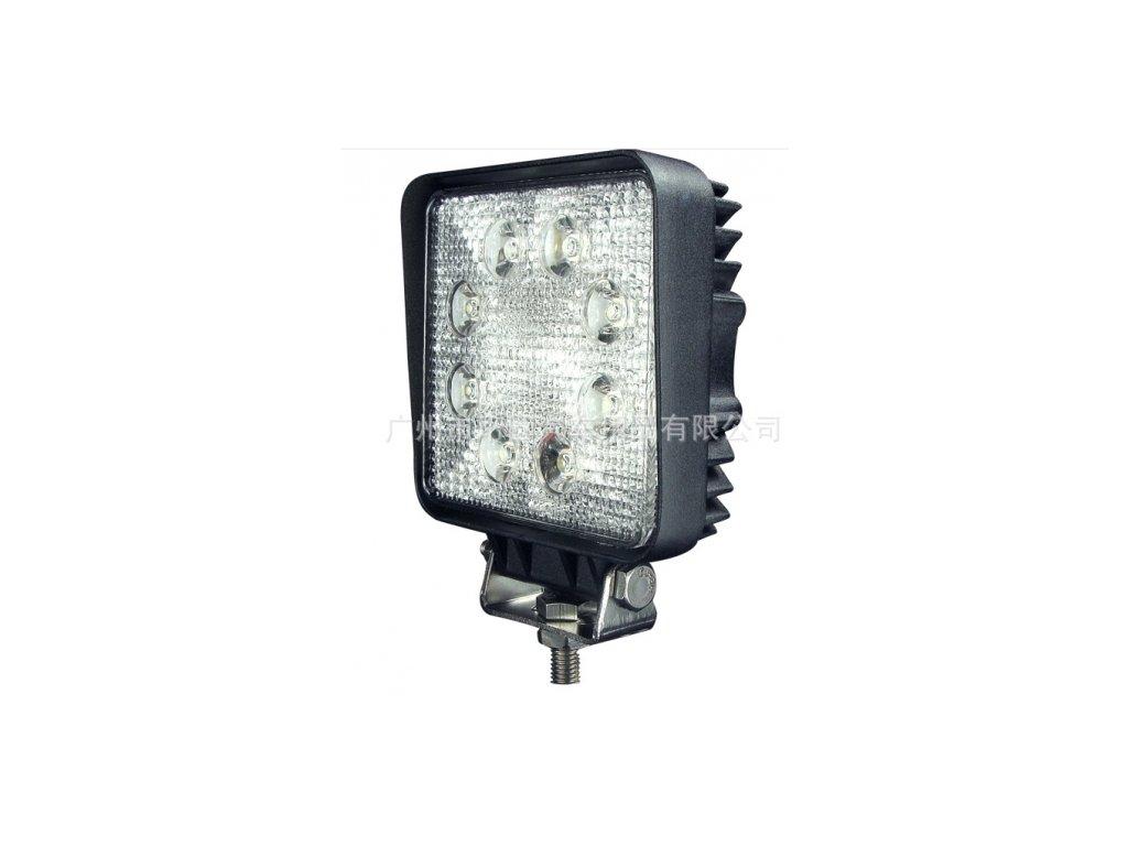 3405 pracovni led svetlo hranate 10 30v dc 9x3w 128x110x45mm