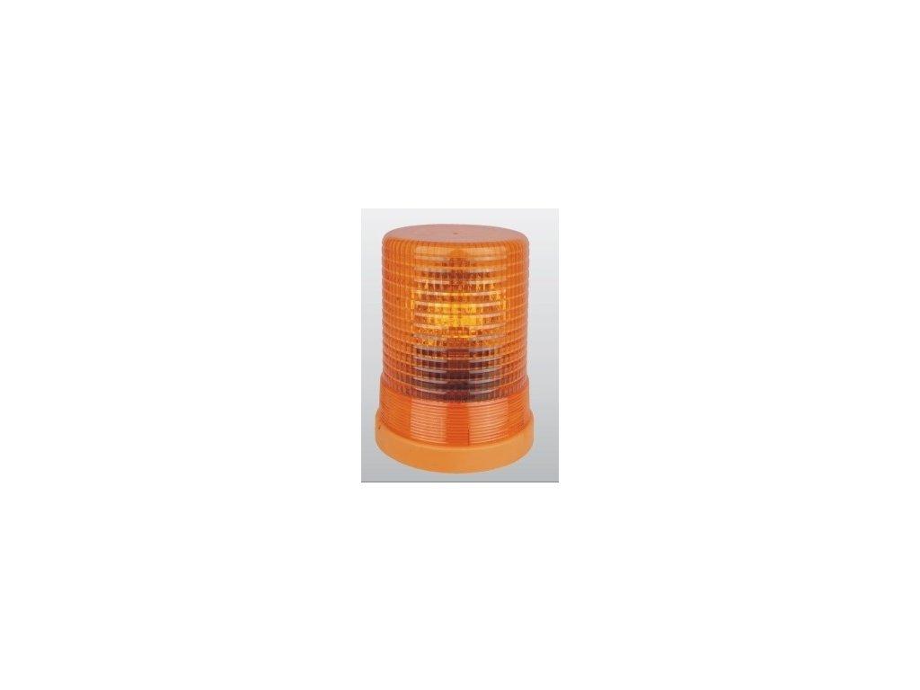 4749 rotacni halogenovy majak oranzovy 24v uchyt pomoci sroubu