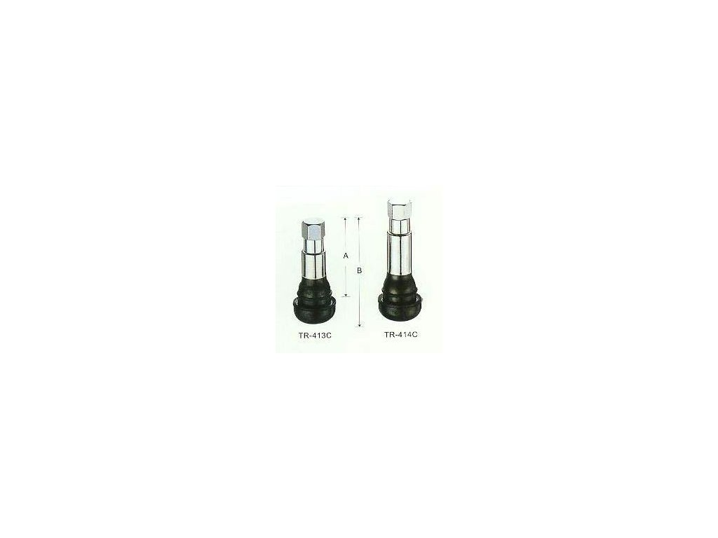 3417 uplny ventil pro bezdusova kola chromovany