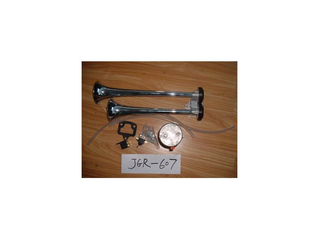 5178 vzduchove fanfary 2x trubka 360mm 420mm 24v