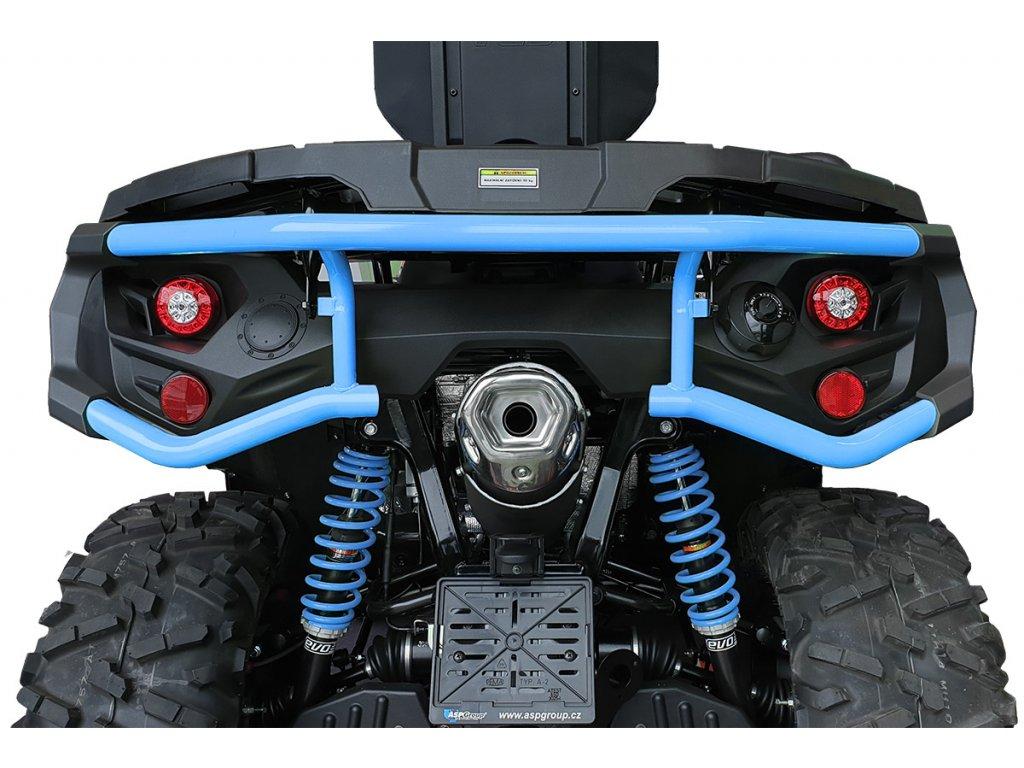 TGB BLADE 600 and 1000 LTX REAR PROTECTION BUMPER(STEEL)(INDIGO BLUE)