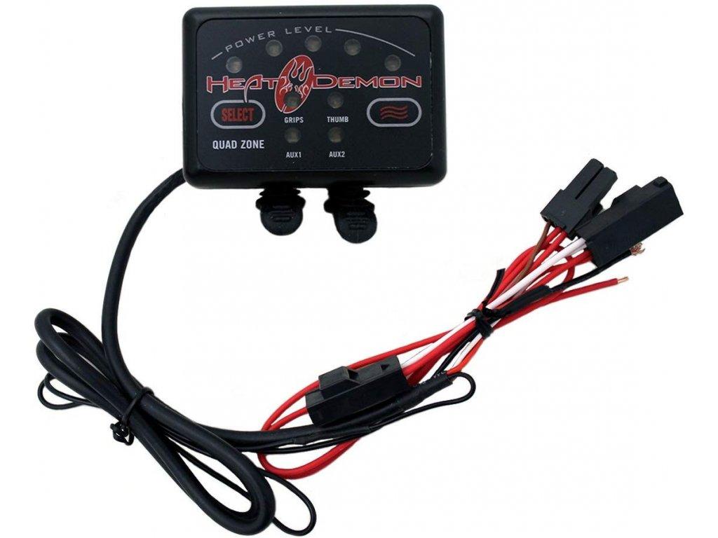 Symtec ATV Quad Zone Controller w/2.5mm DC Plug and Mount