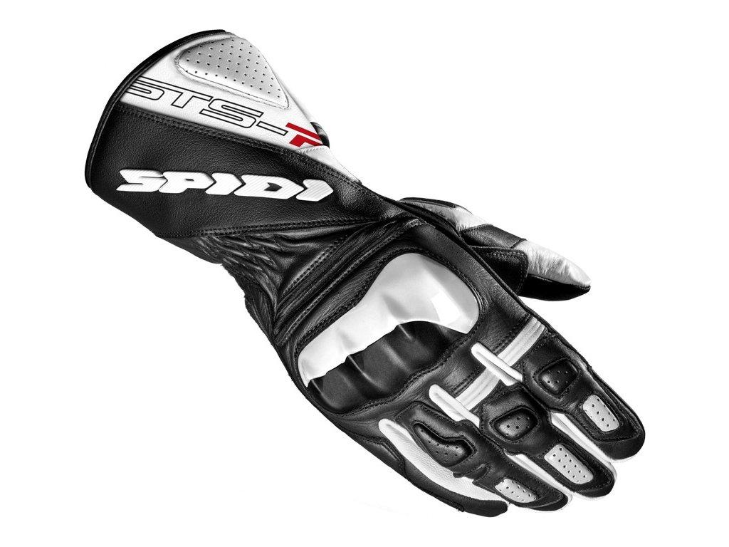 rukavice STS R2 LADY, SPIDI, dámské (bílé/černé)