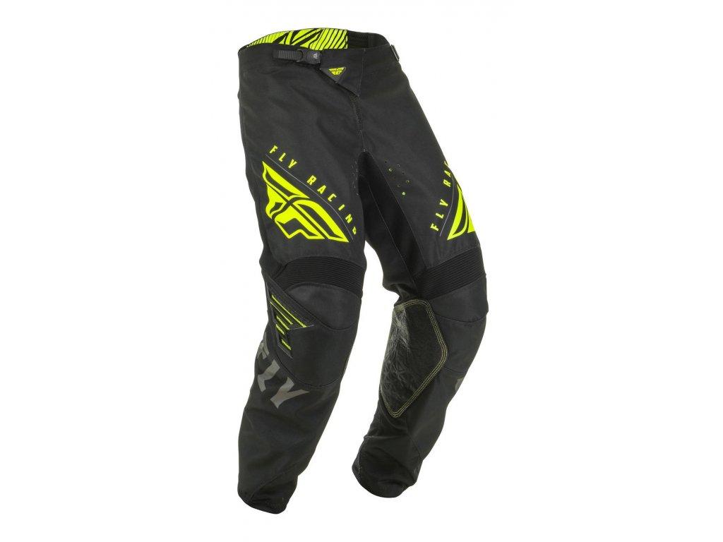kalhoty KINETIC K220, FLY RACING dětské (černá/šedá/hi-vis)
