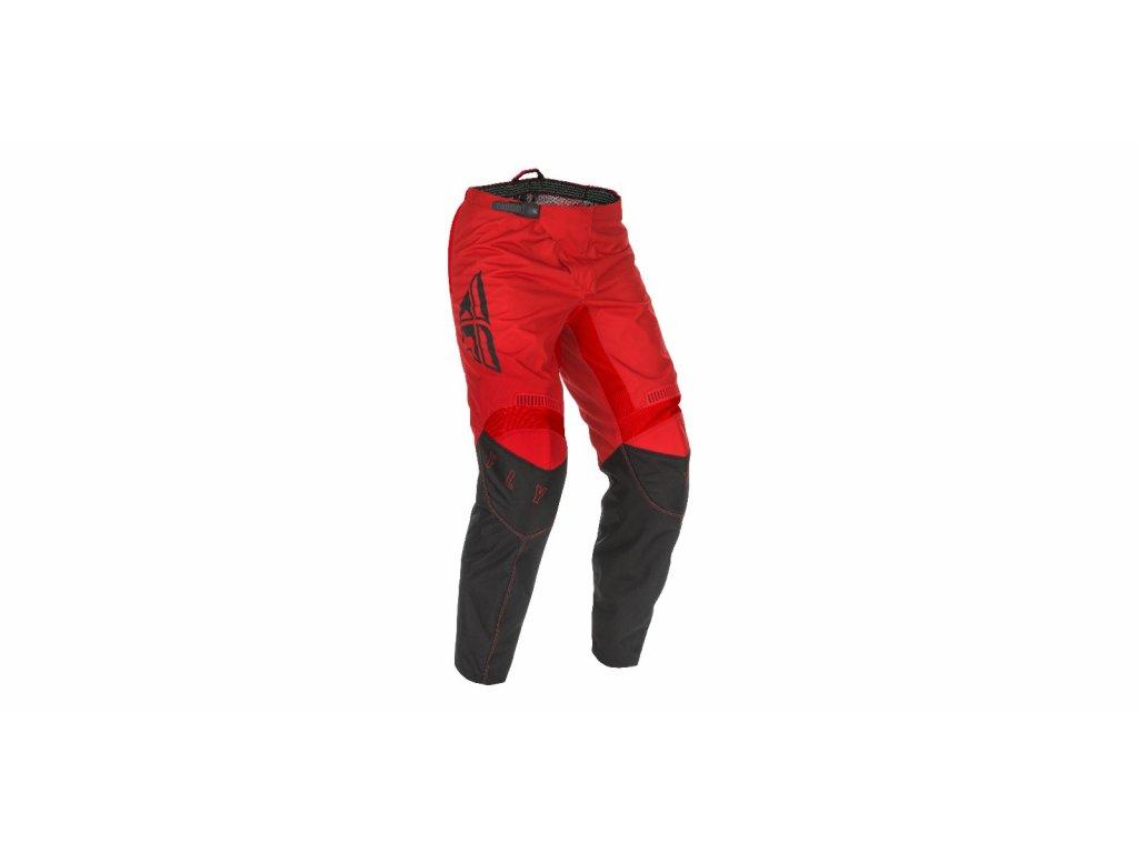 kalhoty F-16 2021, FLY RACING dětské (červená/černá)