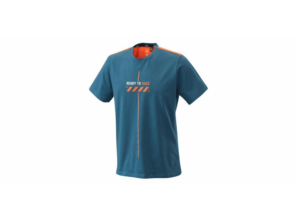 tričko PURE STYLE, KTM (modrá)