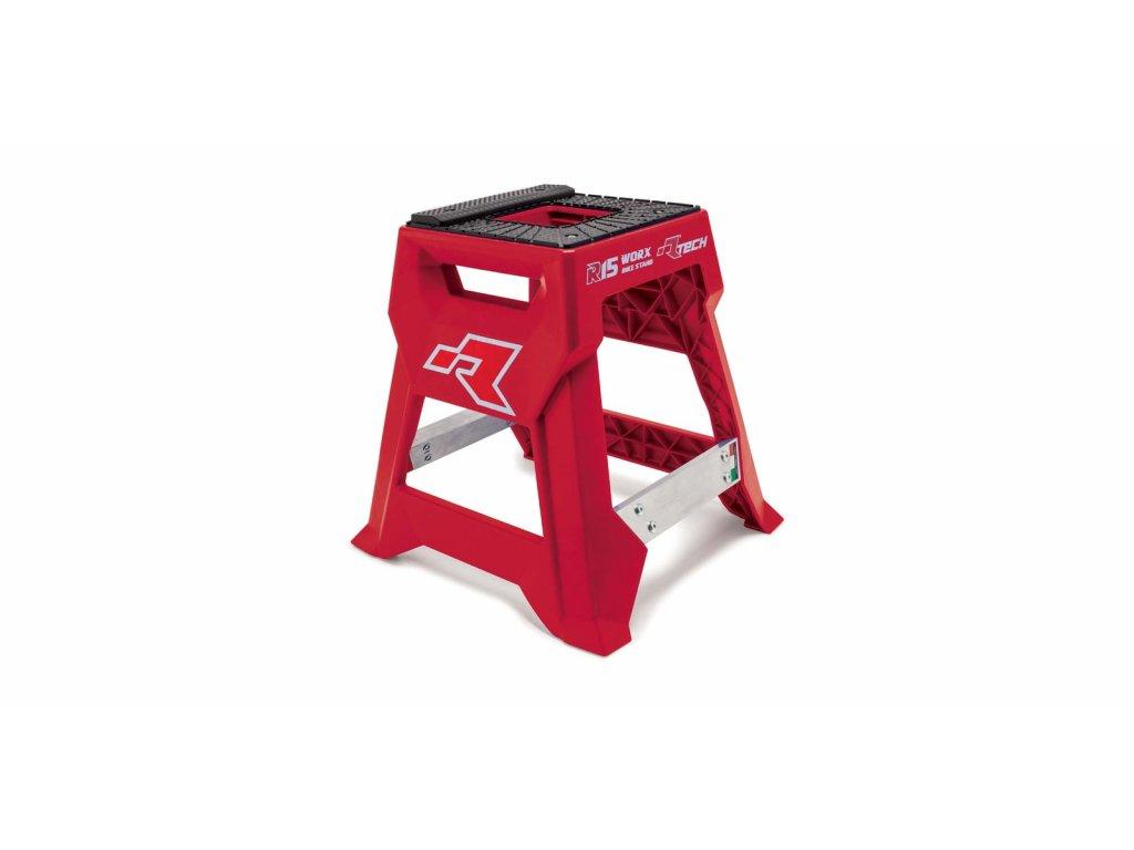 stojan MX R15 (technopolymer / hliník), RTECH (červená/černá)
