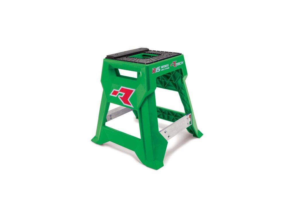 stojan MX R15 (technopolymer / hliník), RTECH (zelená/černá)