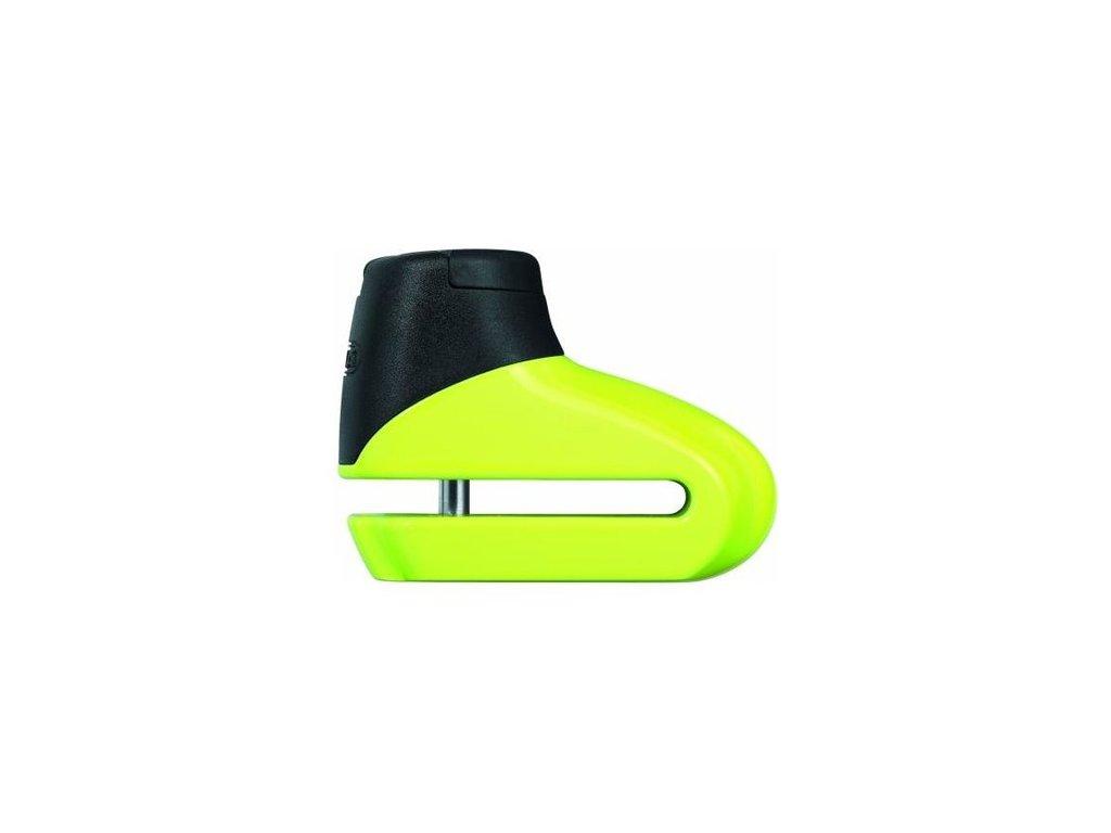 zámek na kotoučovou brzdu 305 (průměr třmenu 5 mm), ABUS (žlutý)