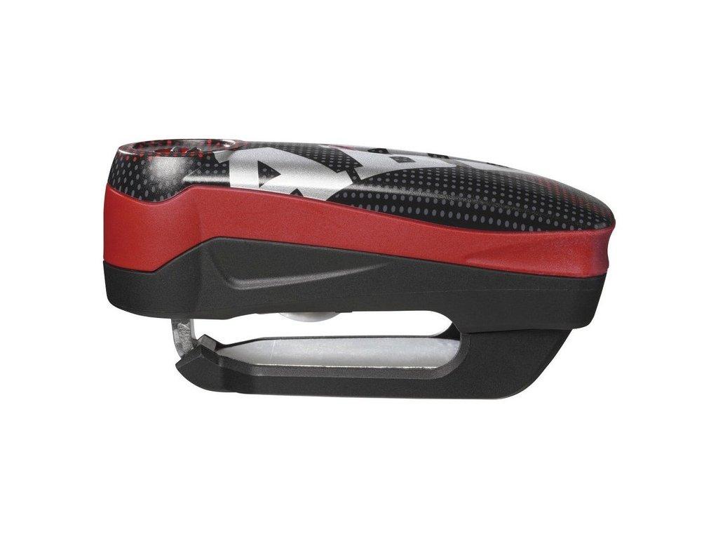 zámek na kotoučovou brzdu s alarmem Detecto RS1 (trn 3 x 5 mm), ABUS (pixel red)