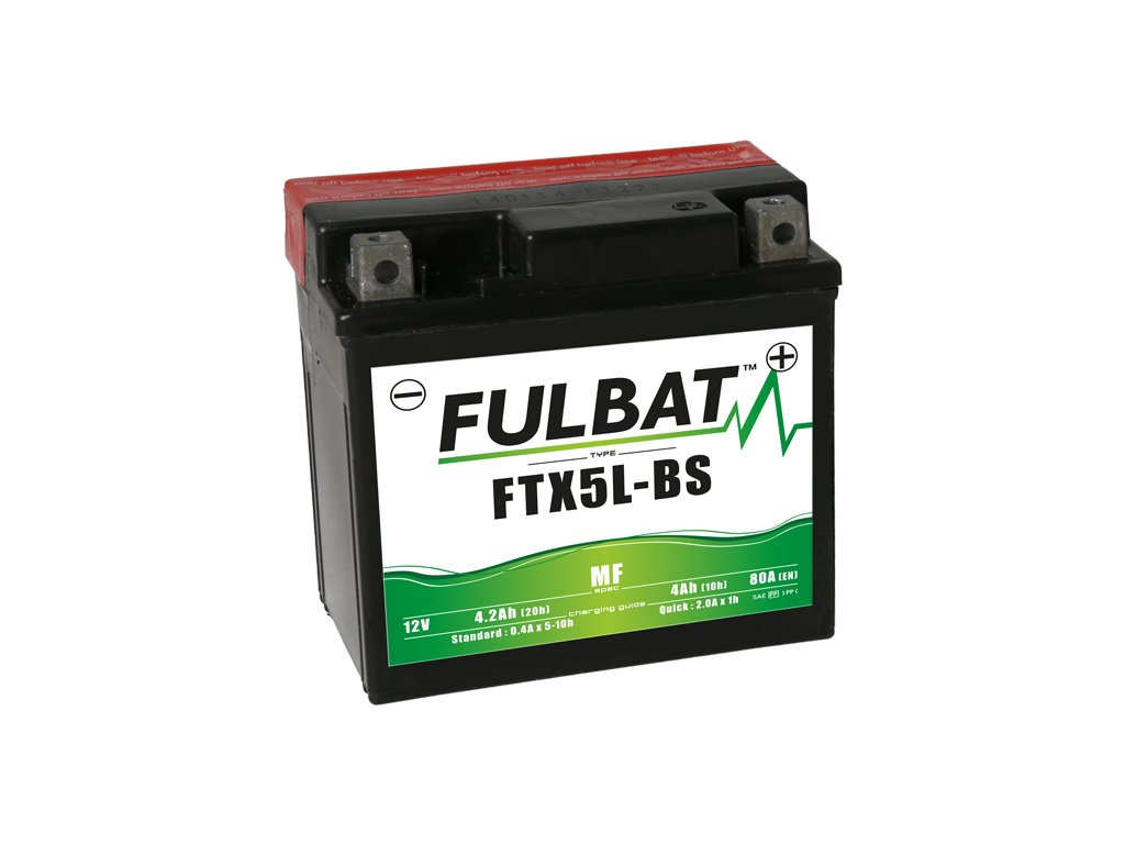 FULBAT baterie 12V/4Ah FTX5L-BS (YTX5L-BS) ACCESS DRR, HONDA, KTM, HUSQVARNA, SUZUKI, GAS GAS